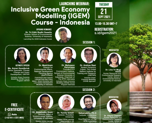 Learning and Skills Development for Green Recovery: Building Back Better with Low Carbon Development in Indonesia